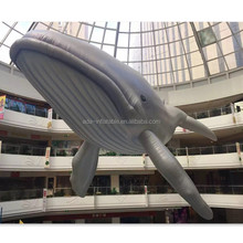 Ocean Inflatable Cartoon 10m Giant Inflatablel Gray Whale A021