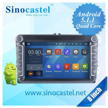 Car audio dvd player for vw universal car with android 5.1.1 system
