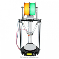 Delta Rostock mini upgraded version Rostock mini G2s pro dual head 3d printer