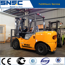 Diesel forklift 3ton FD30 fork lifter with solid tyres
