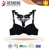 front closure bra,sexy transparent front closure with lace ,bra made in Shantou gurao(accept OEM)
