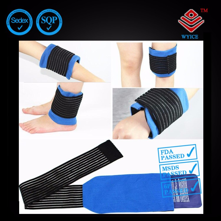 Reusable Hot Cold Gel Ice Pack Compress Wrap for Neck Back Shoulder Knee