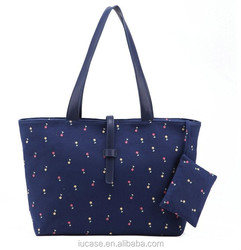 Fashion women canvas craft tote bags