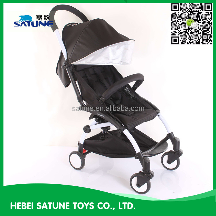 Super mini 2 in 1 baby doll stroller pram from China direct factory