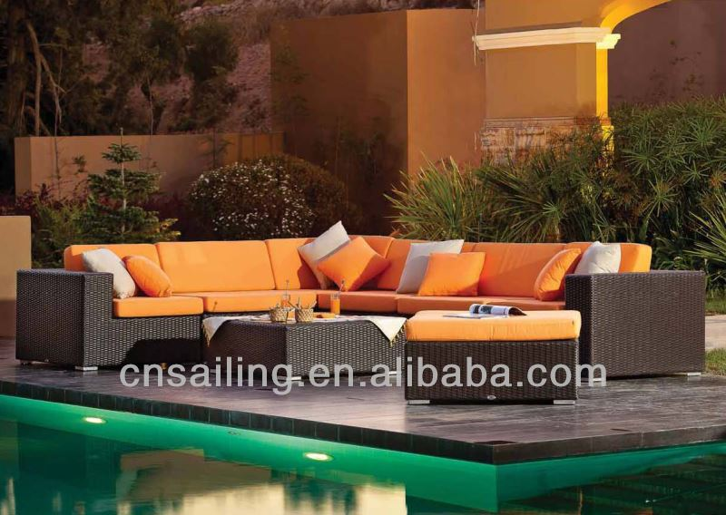 Popular Patio Waterproof heritage loom patio furniture