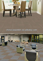 PVC Backing Tufted PP Floral Carpet Tiles . (ST2 Series)