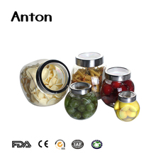 180ml Hot sale mass stock glass bottle various clear glass flat drum storage jar