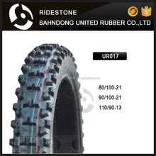 RIDESTONE 80/100-21 90/100-21 110/90-13 Motorcycle Tire MOTOCROSS TYRE WITH DOT Emark