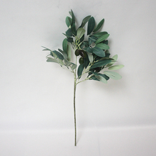 SFH63007 Home decorative artificial plants dry olive leaf artificial olive leaves