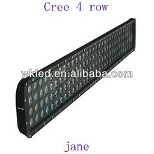 160 pcs led 4 row Cree light bar 800W
