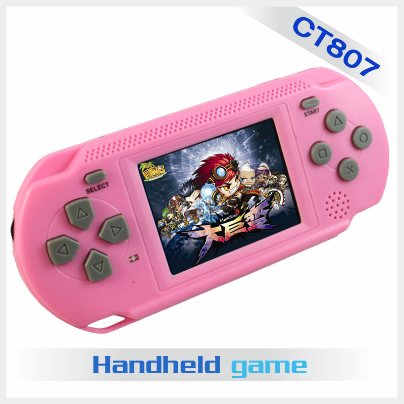 2.5 inch multicolor TFT LCD screen mi ni famous video game players with TF card