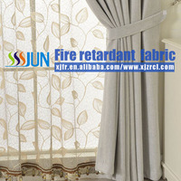 China Wholesale Flame Proof Luxury Curtain
