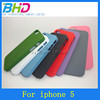 Hot selling Colorful cellphone covers for iPhone 5