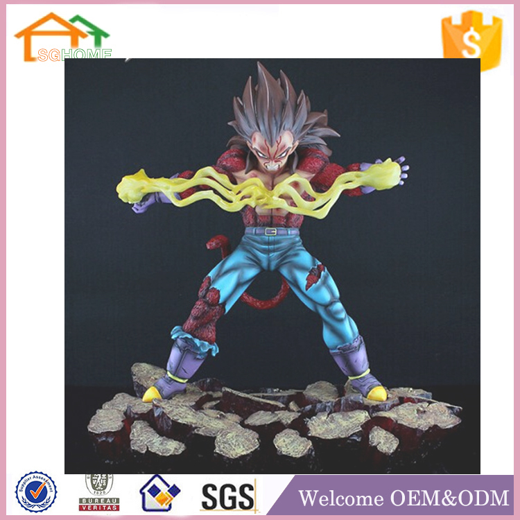 Factory Custom made best home decoration gift polyresin resin nude anime figure toy