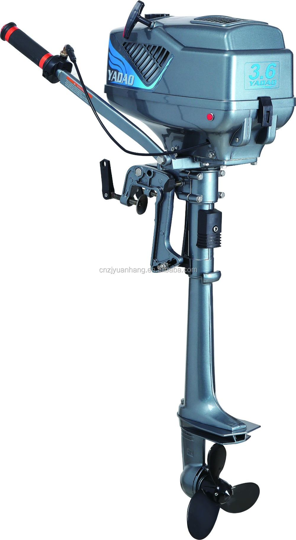 New 2 Stroke Gasoline Outboard Boat Engine View
