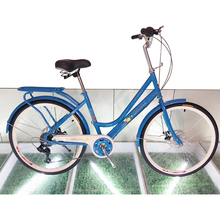 "Wholesale Comfort 24 "" quality steel frame city bicycle"