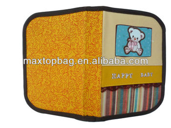 School pencil case with 2 layers, elastic loops & pockets inside