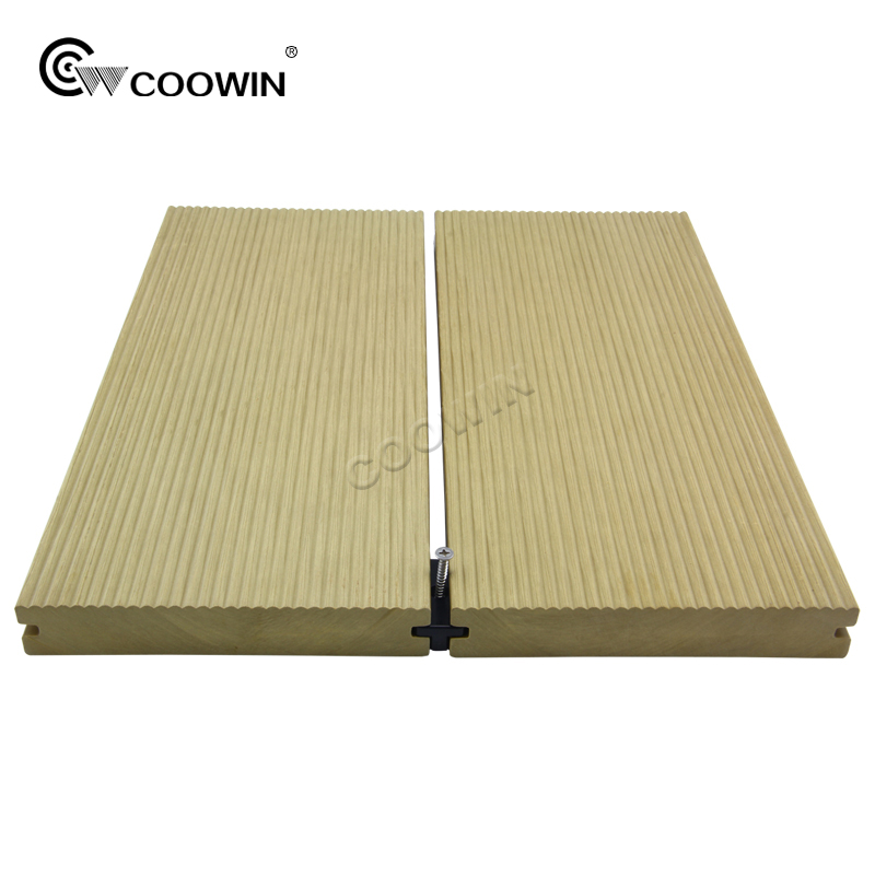 Anti-slip Outdoor WPC Decking Wood-Plastic Composite Flooring