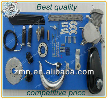 66cc Bicycle with Petrol Engine, Gasoline Engine For Bicycle
