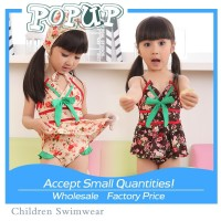 sexy swimwear for kids for children Small flowers jammer