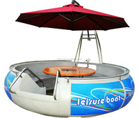 Small Plastic Bbq Boat Rowing Boat for Sale