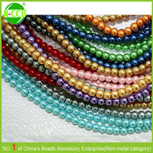 Wholesale Colorful Perfect Craft With Smooth Edge Roll Of Beads Pearl
