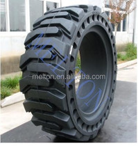 CHEAP PRICE SOLID BOBCAT SKID STEER TIRE 12X16.5 WITH HOLE