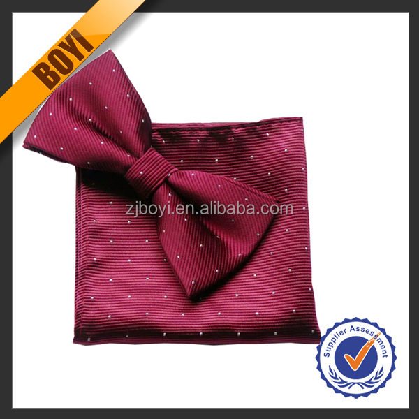 Hot Sale Woven Dot Bowtie Wholesale