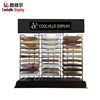 Custom Counter Artificial Quartz Stone Display Rack Stands for Sale