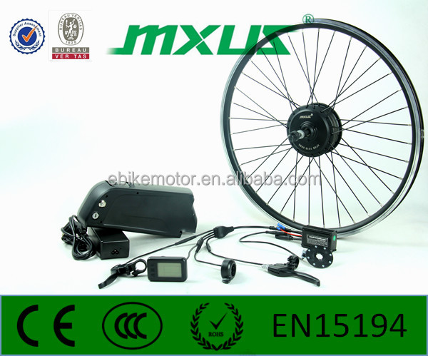 mxus 36v 250w electric bike motor kit