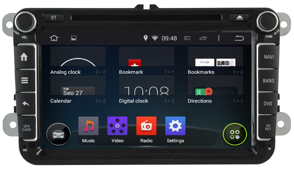 WITSON ANDROID 4.4 FOR VW CADDY CAR VIDEO WITH CAPACTIVE SCREEN BLUETOOTH RDS 3G WIFI