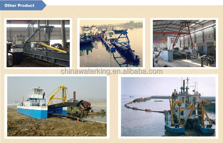 competitive price self-propelled cutter suction dredger for hot sale