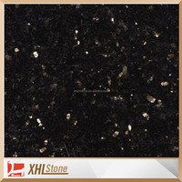Gang Saw black galaxy granite slab for sale