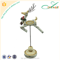 christmas resin products christmas deer for table decor