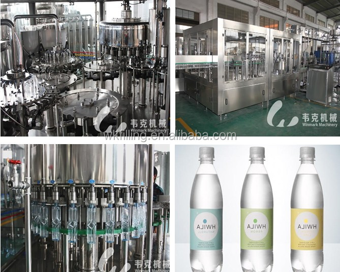 Full-automatic Water/Juice/Milk/Oil Filling Machine