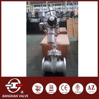 Electric Gate Valve CF8 Regular Port Solid Wedge DN250 Steam