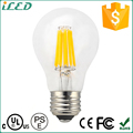 Dimmable CCT 3000K-6000K Lighting Filament 120V 220V E27 LED Bulb UL E26