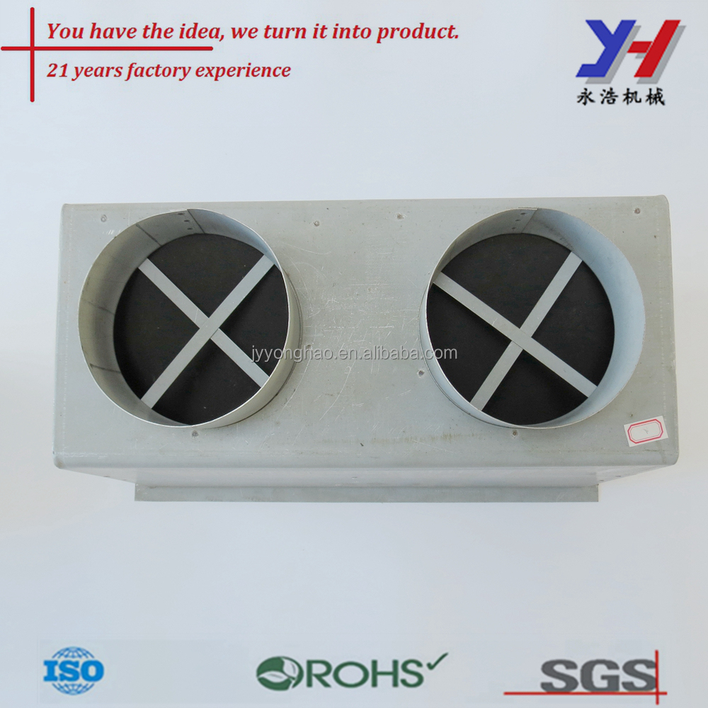 Electro galvanizing sheet metal CNC bending part Spot welding box
