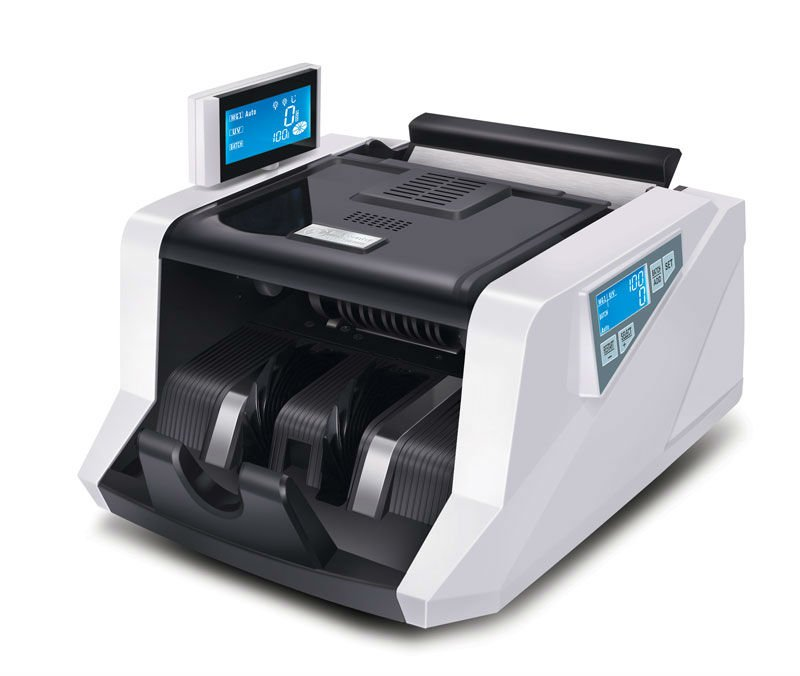 Money Counter and Detector GR-168 with UV&MG and LCD Display