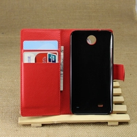 Super quality Crazy Selling leather phone case for htc desire 300
