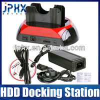 2013 all-in-1 dual hdd docking station(USB/e-SATA/SATA)