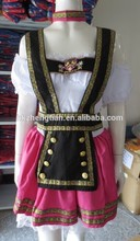 Factory us brandChina Supplier oktoberfest costume Pink Fantasy German Girl Beer Adult Costume Halloween costumeinstyles fancy d
