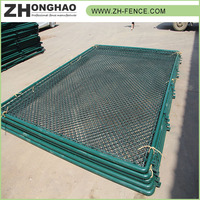 Hot dipped galvanized High Security Cheap Bulk sale heavy duty chain link fencing