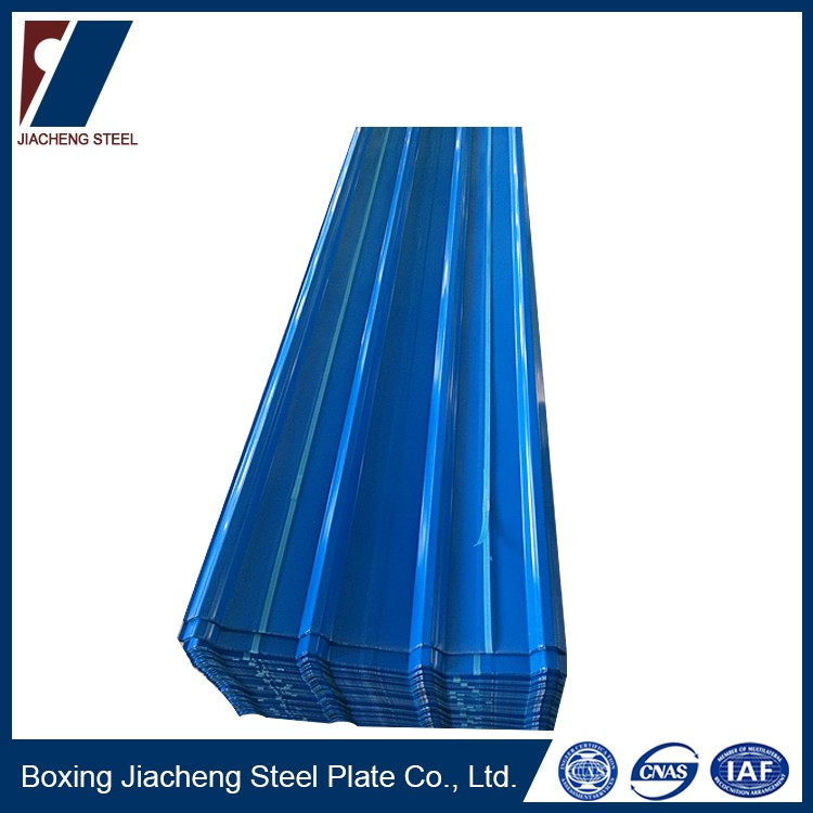 Wear resistant color coated steel roofing