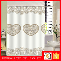 Strong fresh lightweight printing home used shower curtain
