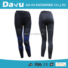 Best OEM sport graduated Compression Tights Seamless Knitting Taiwan produced