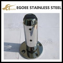 Manufacture ss304 pool fence glass spigot glass clamp