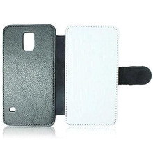 JESOY Sublimation Leather Case Blank For Samsung, Leather Flip Cover Case For Smartphone