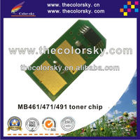 (TY-OB461) toner cartridge reset chip chipset for OKI MB461 MB471 MB491 MB 461 471 491 44574802 7K pages bk