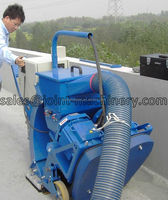 clean up the tunnel pavement shot blasting machine/road surface cleaning
